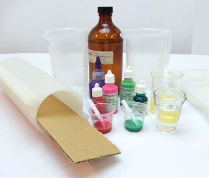Strawberry Kiwi Ying Yang Hand Made Soap