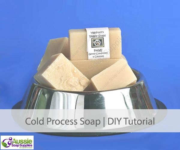 Paws Dog Soap Recipe