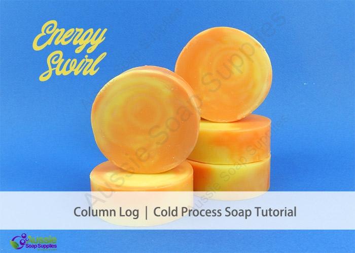 Energy Cold Process Column Pour Soap DIY recipe