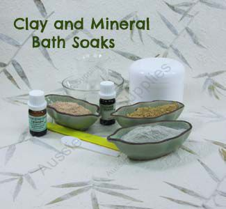 Clay and Mineral Bath Soaks