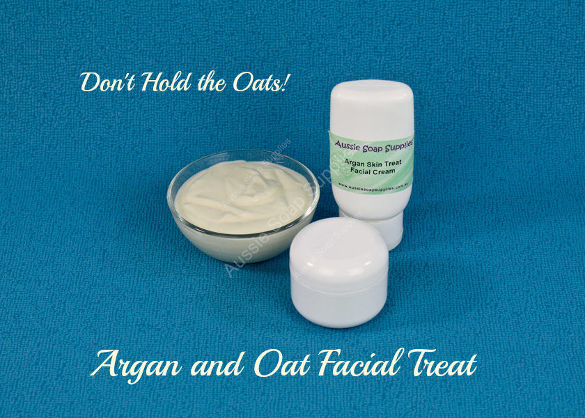 Argan and Oat Facial Treat - Don't Hold the Oats!