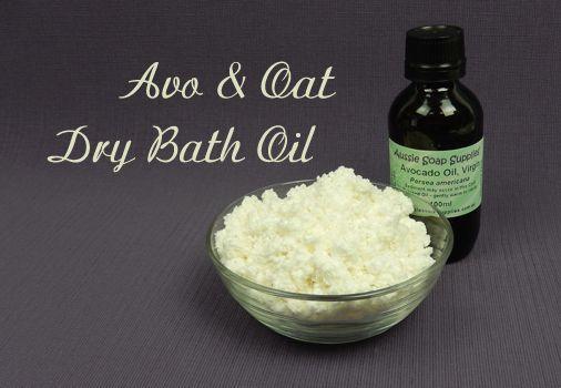Avo and Oat Dry Bath Oil