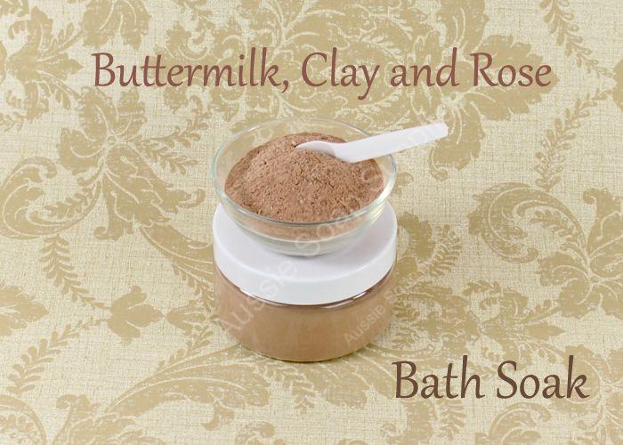 Buttermilk, Clay & Rose Bath Soak