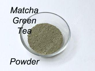 Matcha Green Tea Powder in Face Mask