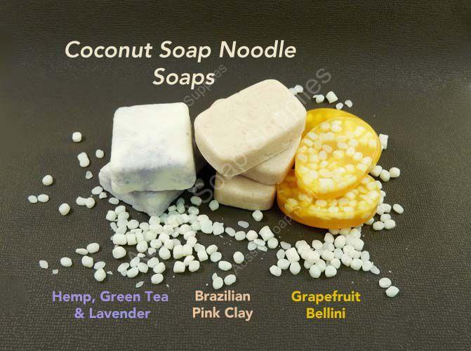 Coconut Soap Noodles - Palm Free!