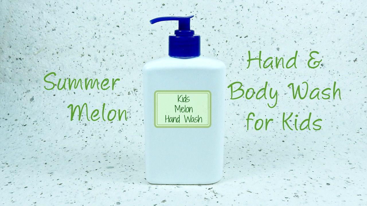 Hand & Body Wash for Kids Mini Tutorial