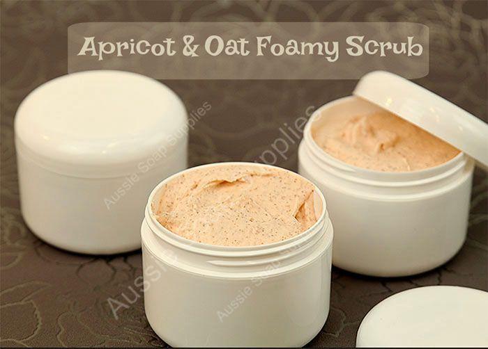 Apricot and Oat Foamy Scrub