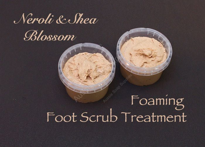 Foaming Foot Scrub Treatment