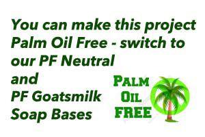 Palm Free Natural Handmade Soap