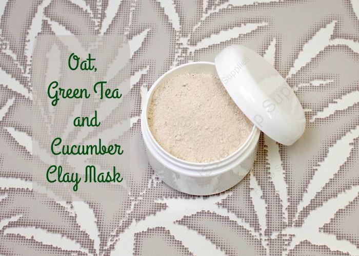 Oat Green Tea Cucumber Facial Mask