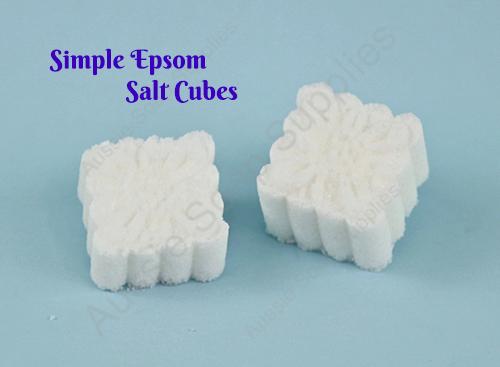 Simple Epsom Salt Bath Soak Cubes