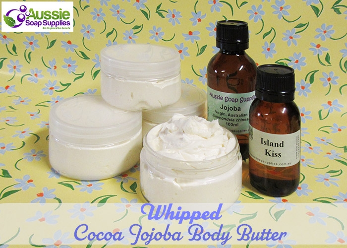 Whipped Cocoa Jojoba Body Butter