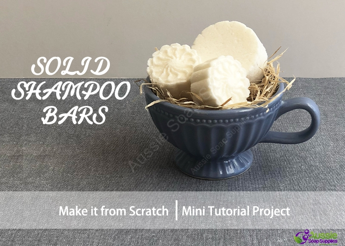 Solid Shampoo Bar Kit Mini Tutorial