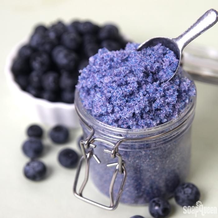 Blueberry Jam Sugar Scrub Tutorial