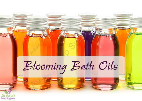Blooming Bath Oil Recipes