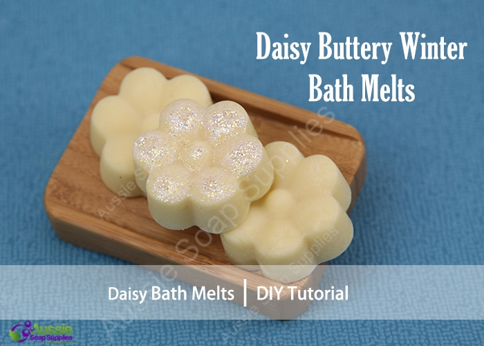 Daisy Buttery WInter Bath Melts