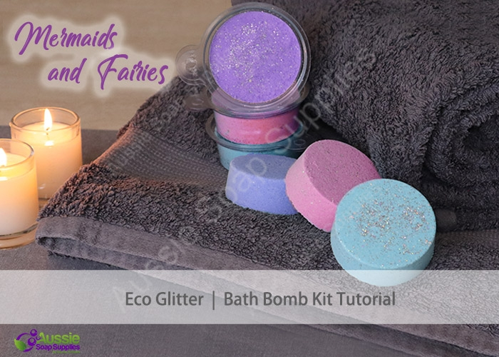 Bath Bomb Kit with Mermaids & Fairies
