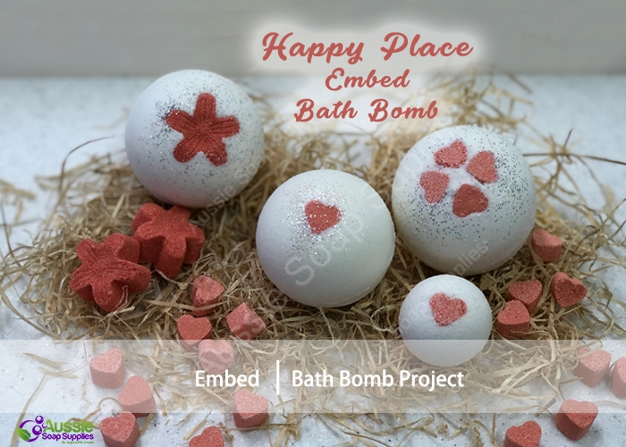 Happy Place Embed Bath Bombs