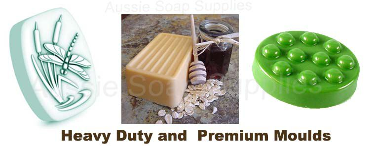 Heavy Duty and Premium Soap Moulds