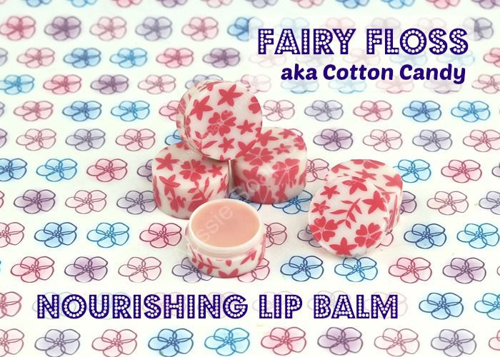 Fairy Floss Nourishing Lip Balm