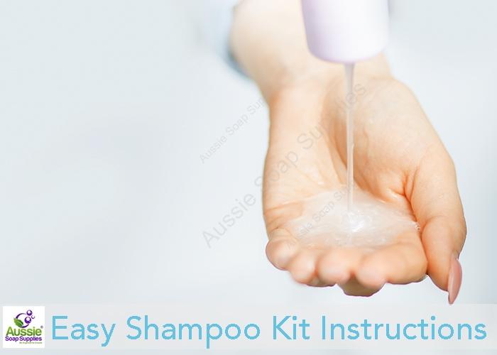 Easy Shampoo Kit Instructions
