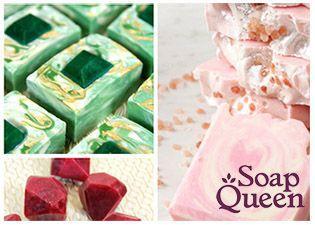 Soap Queen Gemstone Round Up Tutorials and Ideas