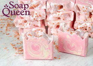Soap Queen Cold Process Rose Quartz Soap