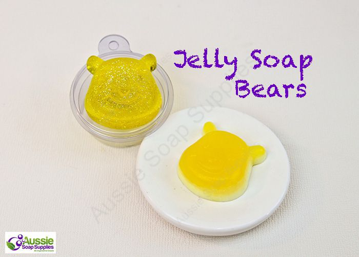 Jelly Soap Bear Tutorial