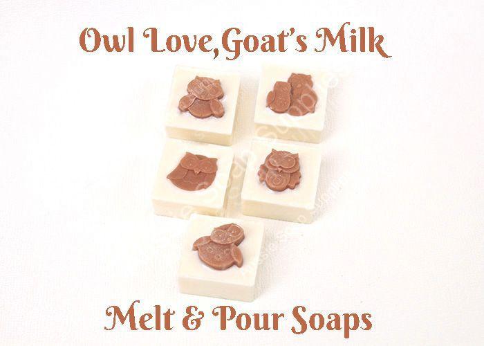 Owl Love Goatsmilk Melt & Pour Soap