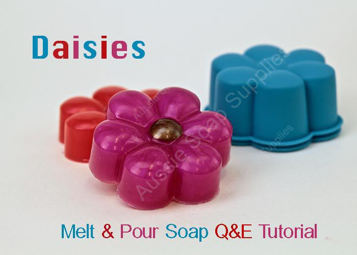 Quick & Simple Melt and Pour Soap Daisies