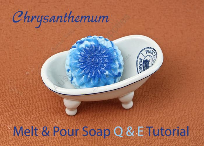 Q & E Floral Melt and Pour Soaps