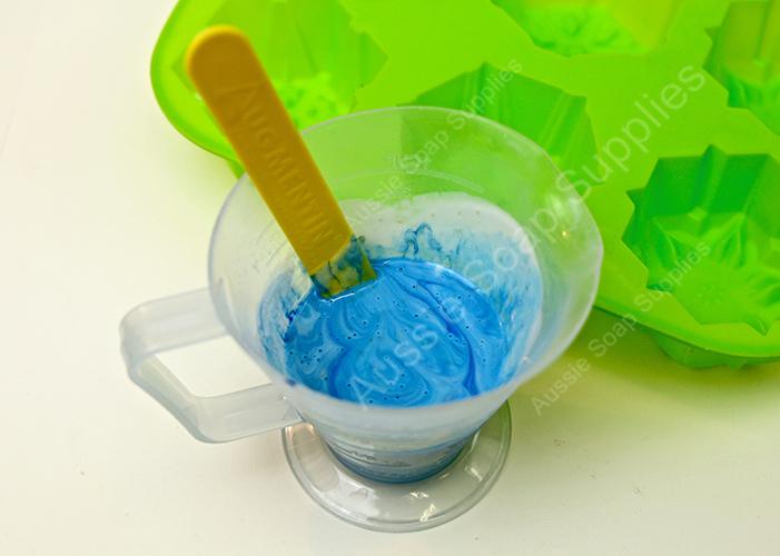 Snowflake Melt and Pour Soap Ideas