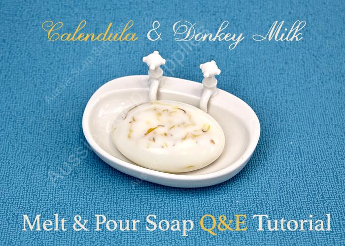 Donkey Milk and Calendula Soap Recipe