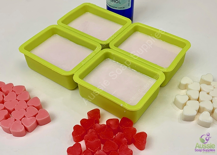 Tiny Hearts Donkey Milk Melt & Pour Soap DIY