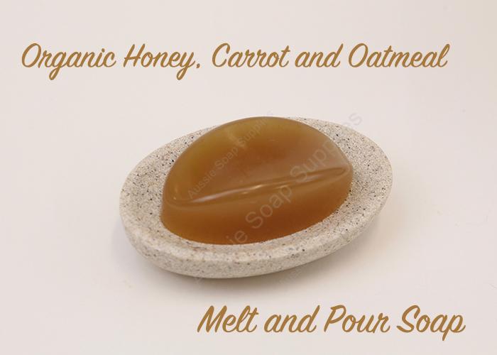 Organic Honey Carrot Oatmeal DIY Soap Recipe