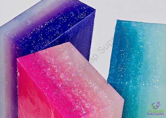 Mermaids & Fairies Glitter Melt & Pour Soap Kit