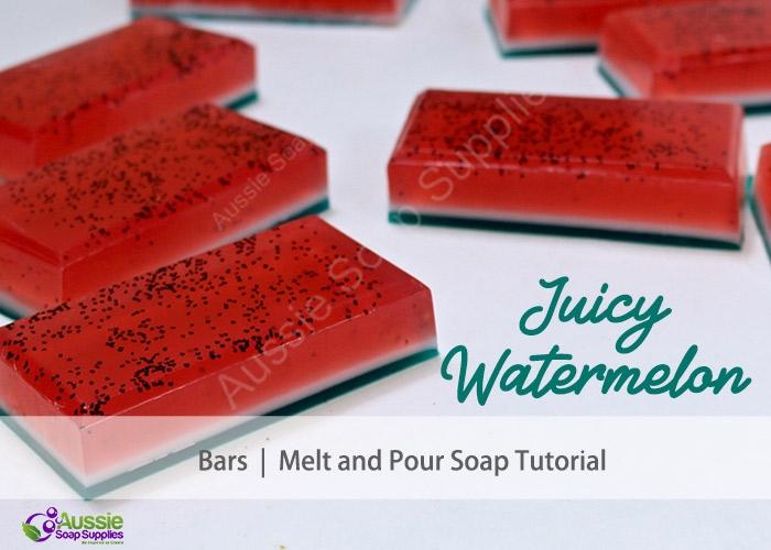 Melt & Pour Soap Soap Kit Juicy Wwatermelon