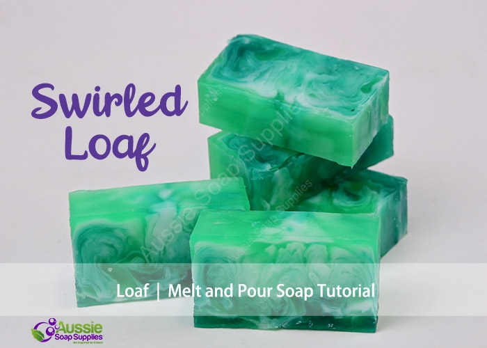 Kit Mini TutorialSwirled Melt & Pour Soap Loaf