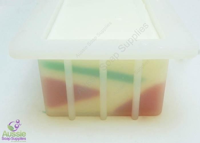Festive Geo Stripes Melt & Pour Soap Loaf