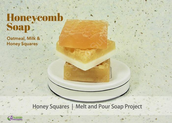 Melt & Pour Soap HoneycombTutorial