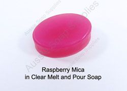 Mica in Melt and Pour Soap