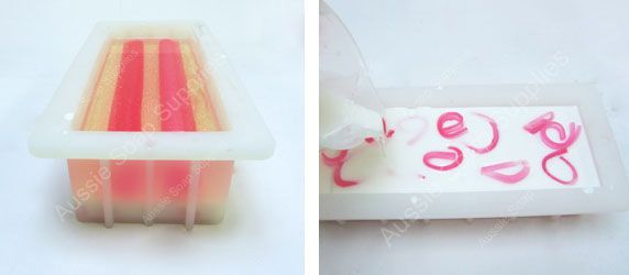 Embed Heart Melt and Pour Handmade Soap