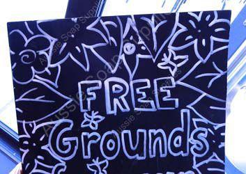 Free Coffee Grounds