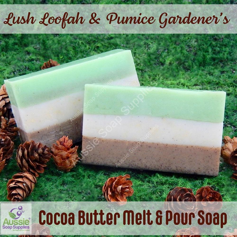 Lush Loofah & Pumice Gardener's Soap Recipe
