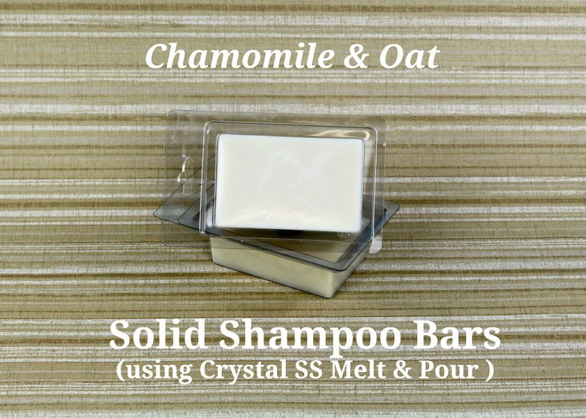 Using Crystal SS base to make Solid Shampoo Bars