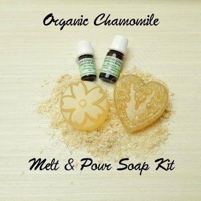 Organic Chamomile Melt and Pour Soap Kit