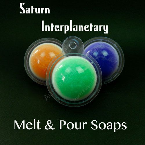 Saturn Interplanetary Melt and Pour Soaps