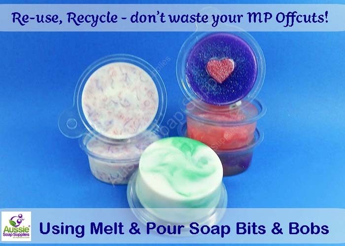 Using Bit n Bobs MP Soap leftovers