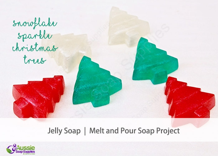 Jelly Soap Christmas Tutorial DIY