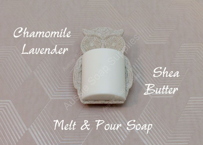 Chamomile Lavender Shea Butter Cleansing Bars